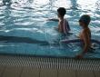 Wakacje z CSiK - pluski w basenie